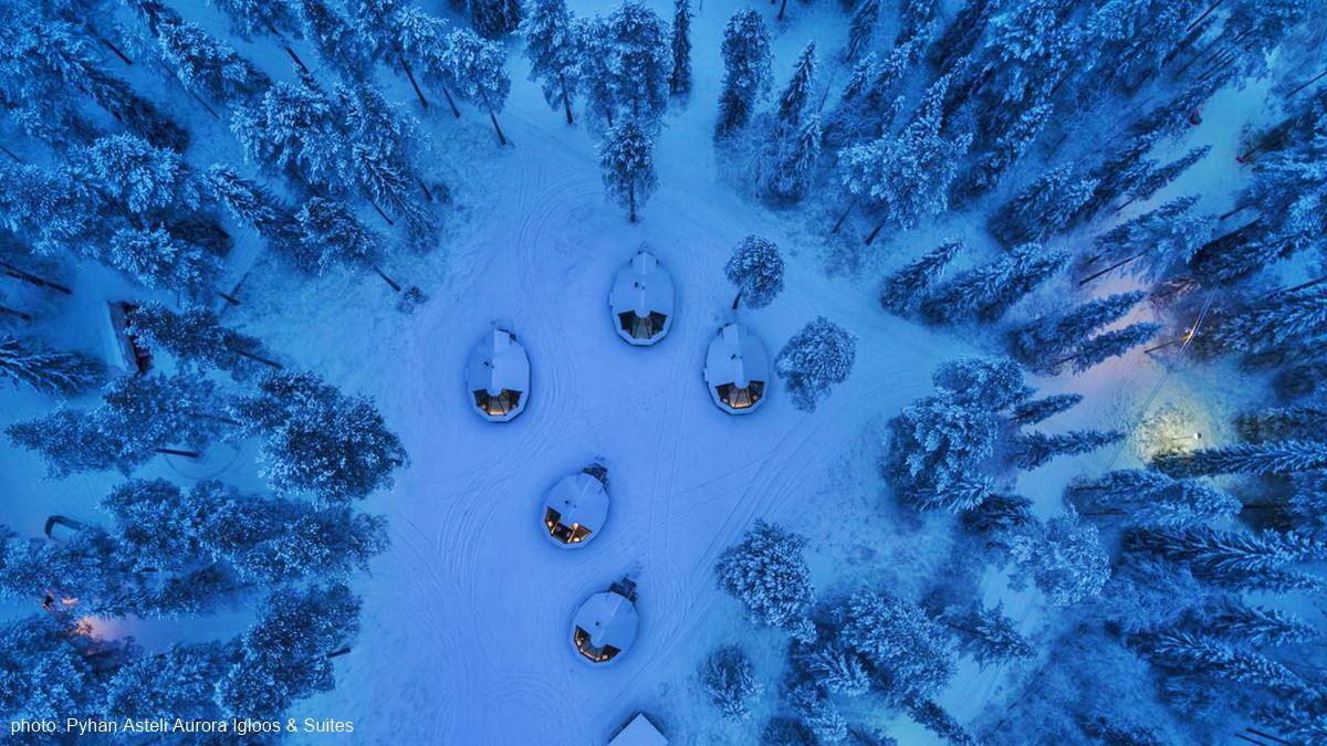 Pyhän Asteli Aurora Igloo Huts