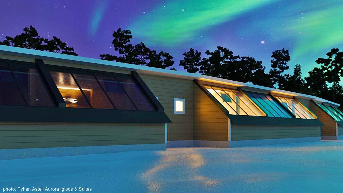 Pyhän Asteli Aurora Suites